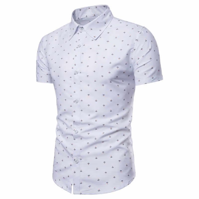 Camisa Masculina Slim Fit Branca