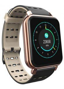 Smartwatch Relógio Eletrônico Y62 Pro Style Cor Bronse Pulseira de Silicone