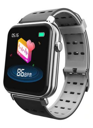 Smartwatch Relógio Eletrônico Y62 Pro Style Cor Cinza Pulseira de Silicone