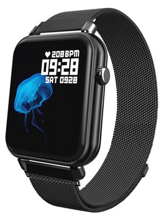 Smartwatch Relógio Eletrônico Y62 Pro Style Pulseira de Aço