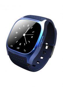 Relógio Inteligent M26 Smartwatch Bluetooth Azul