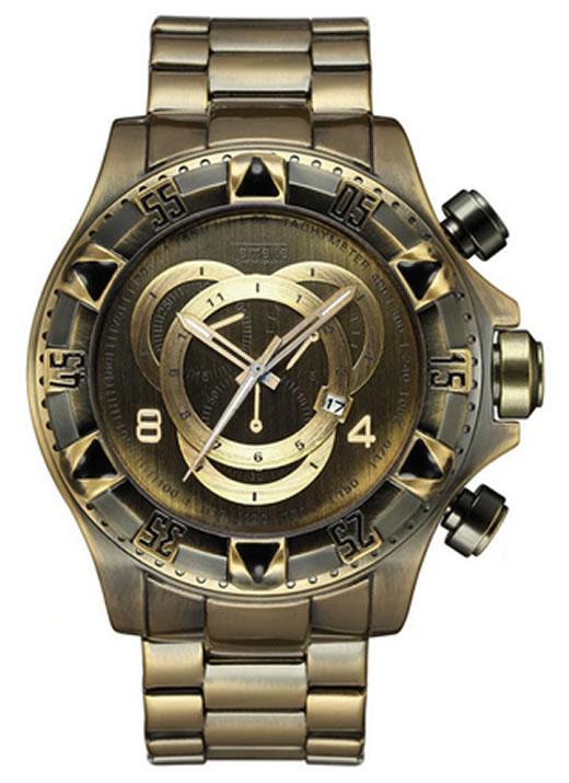 Relógio Temeite Reserve Dourado Ferrugem