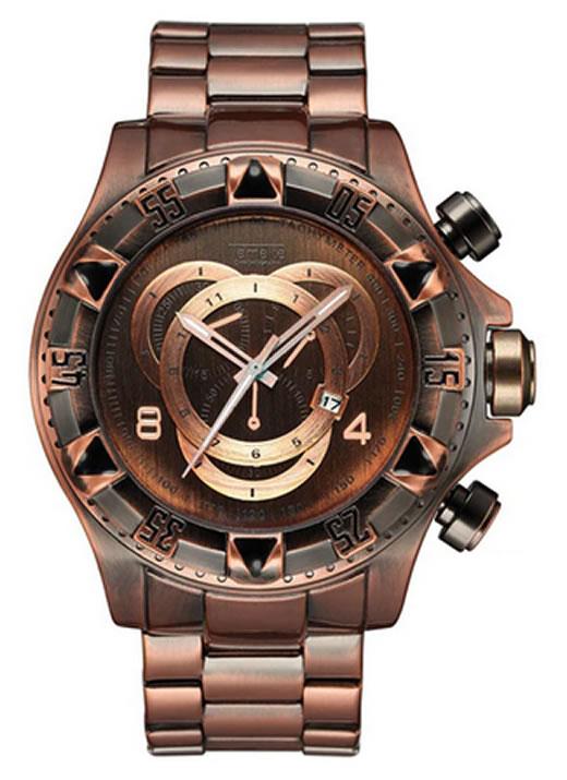 Relógio Temeite Reserve Rose Ferrugem