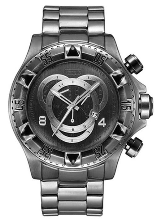 Relógio Temeite Reserve Prata Ferrugem