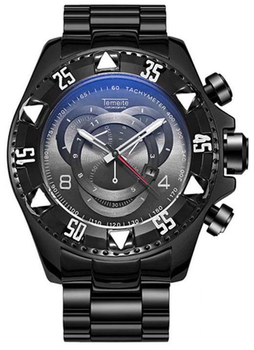 Relógio Temeite Reserve Preto