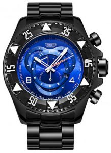 Relógio Temeite Reserve Preto Azul