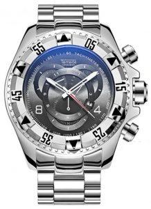 Relógio Temeite Reserve Prata Preto