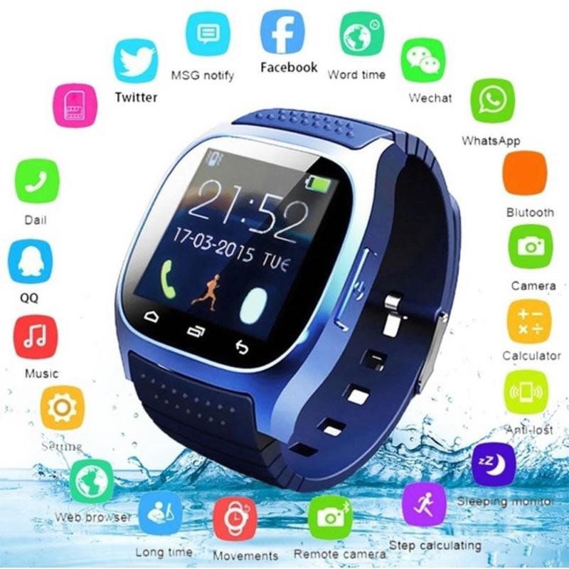 Smartwatch M26 Relógio Inteligente Funções Monitoramento do Sono Celular