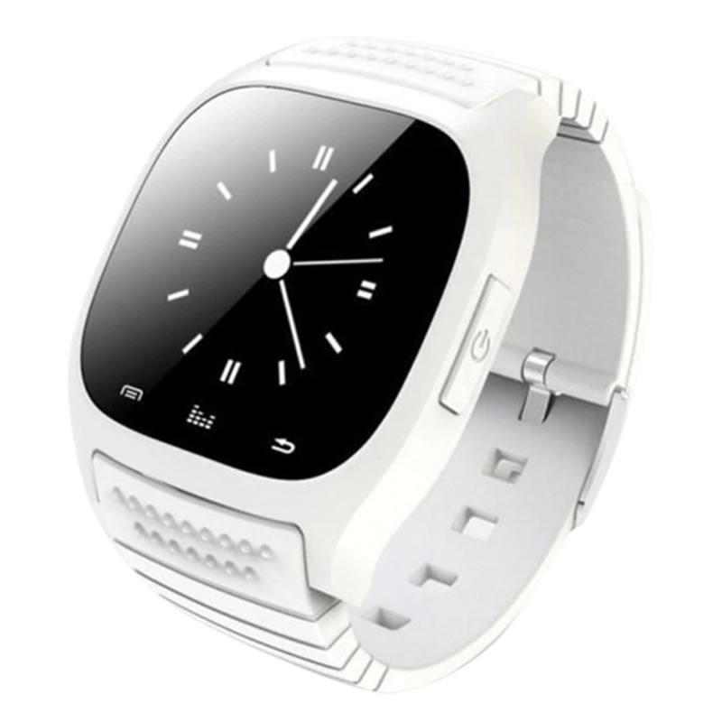 Smartwatch M26 Relógio Inteligente Branco Monitoramento do Sono Celular