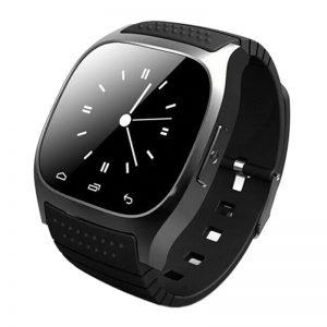 Smartwatch M26 Relógio Inteligente Preto Monitoramento do Sono Celular