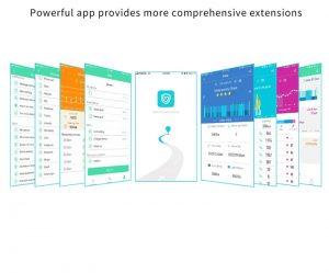 relógio smartwatch f10 inteligente ios android Integrado a APP