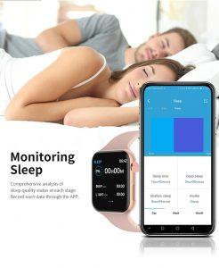 relógio smartwatch f10 inteligente ios android Monitoramento do Sono Alertas
