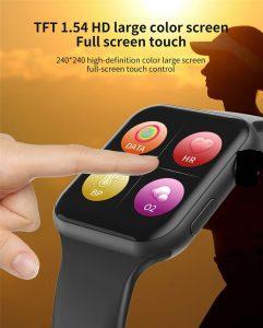 relógio smartwatch f10 inteligente ios android Previsão do Tempo Real