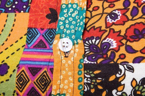 Camisa Masculina Importada Slim Fit Colorida Botão - Camisas Masculinas