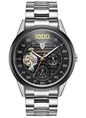 Relógio Automático Tevise 1000 Turbilhão Preto