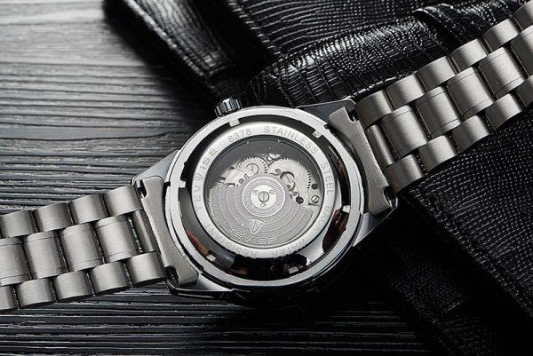 Relógio Automático Tevise 1000 Turbilhão Moda Elegante