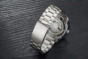 Relógio Automático Tevise 1000 Turbilhão Inoxidavel