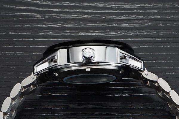 Relógio Automático Tevise 1000 Turbilhão Inox