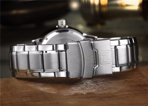 Relógio Masculino NAVIFORCE Prata Pulso 9090 M Original