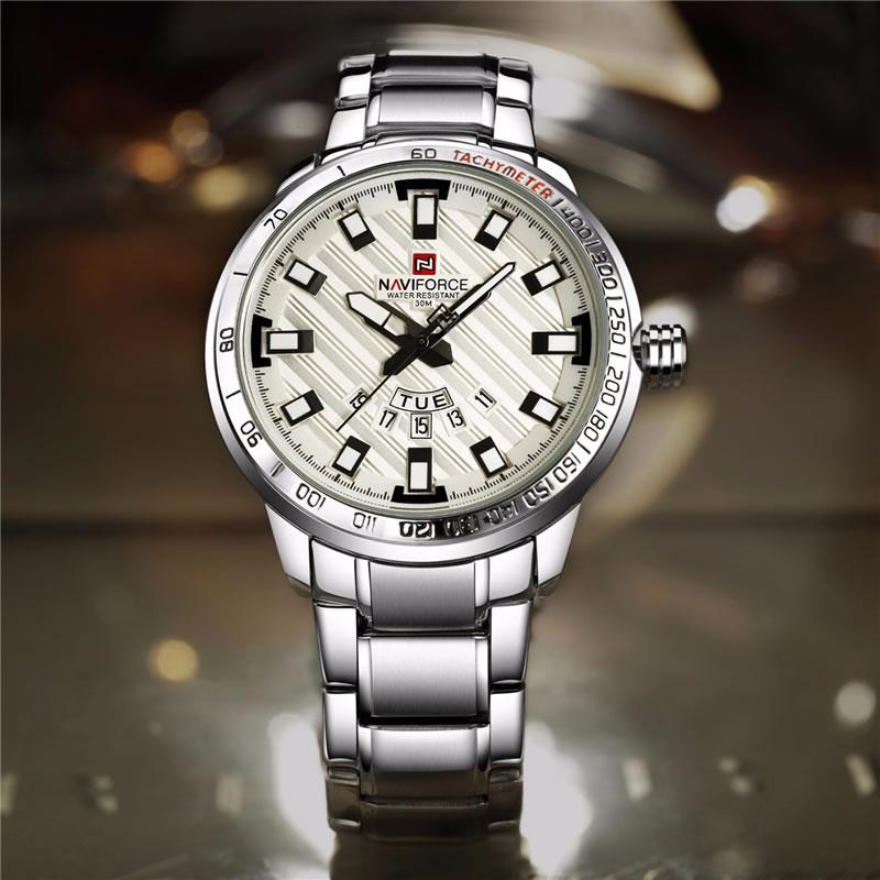 Relógio Masculino NAVIFORCE Luxo 9090 M Original