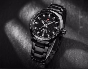 Relógio Masculino NAVIFORCE Preto 9090 M Original