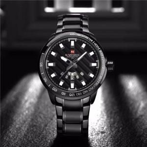 Relógio Masculino NAVIFORCE Preto Pulso 9090 M Original