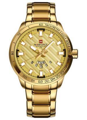 Relógio Masculino NAVIFORCE 9090 M Dourado Original