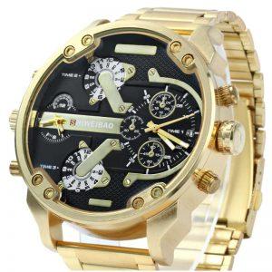 Relógio Masculino Dourado