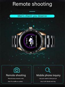 Relógio Smartwatch Relógio Eletrônico Lige Force Câmera Fotos