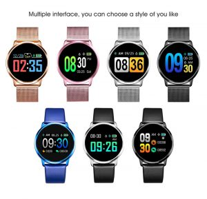 Smartwatch Relógio Eletrônico Q8 Gear Multi interfaces