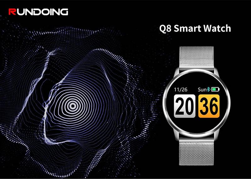 Smartwatch Relógio Eletrônico Q8 Gear Luxo