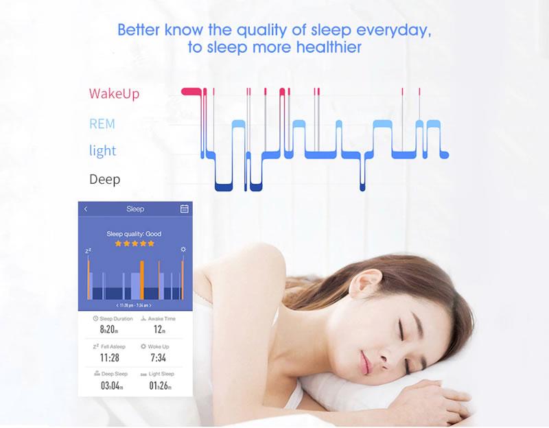 Smartwatch Relógio Eletrônico Q8 Gear Qualidade do Sono