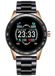 Smartwatch Relógio Eletrônico Lige Force Dourado