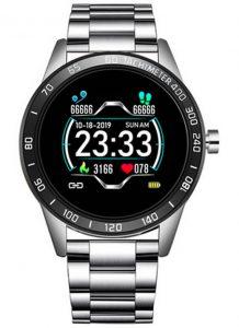 Smartwatch Relógio Eletrônico Lige Force Prata