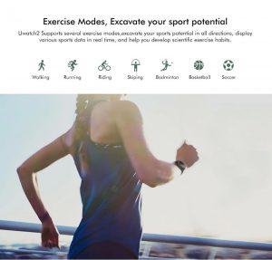 Smartwatch Umidigi Uwatch2 Relógio Inteligente Funções Esportes