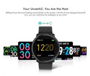 Smartwatch Umidigi Uwatch2 Relógio Inteligente Telas