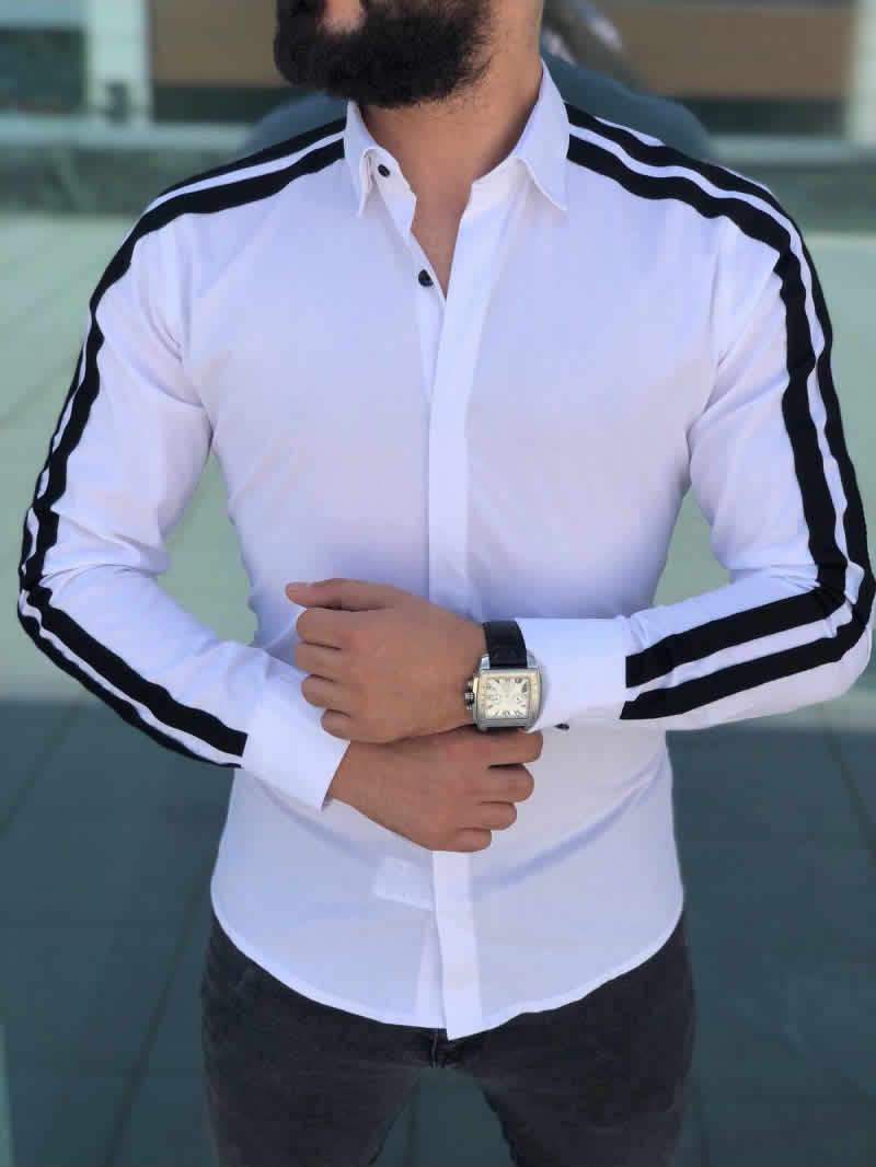 Camisa Branca Slim Fit