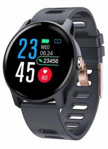 Relogio Smartwatch S08 Original Inteligente- Ip68 SENBONO S08 Azul
