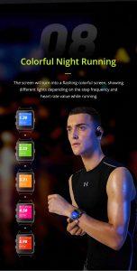 Relógio Smartwatch Makibes BR3 Com Gps para corrida e Strava Cores