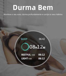 Relógio Unissex Smartwatch Hero Band B57 Relógio Inteligente iOS Android Monitoramento do Sono