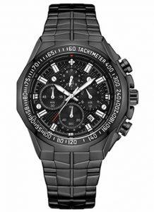 Relógio Masculino Cronógrafo Wwoor Luxo 6668 Preto