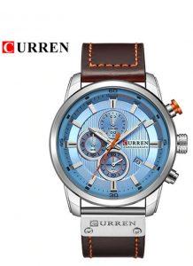 Relógio Currem 81291 Cronógrafo De Quartzo Desportivo Luxo Original