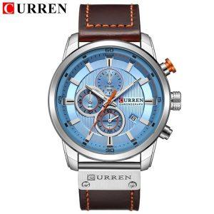 Relógio Currem 81291 Cronógrafo De Quartzo Desportivo Masculino Azul