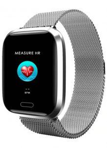 Relógio Smartwatch Eletrônico A8 Pró - Android e iOS - 43MM Cinza
