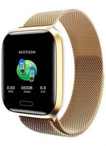 Relógio Smartwatch Eletrônico A8 Pró - Android e iOS - 43MM Rose