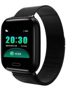 Relógio Smartwatch Eletrônico A8 Pró - Android e iOS - 43MM Preto