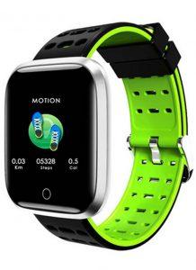 Relógio Smartwatch Eletrônico A8 Pró - Android e iOS - 43MM Verde