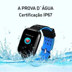 Relógio Smartwatch Eletrônico A8 Pró - Android e iOS - 43MM Reçlógio a prova d`agua
