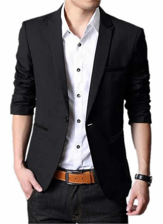 Blazer Masculino Importada Corte Slim Fit - Um Botão