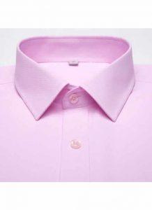 Camisa Social Masculina Rosa